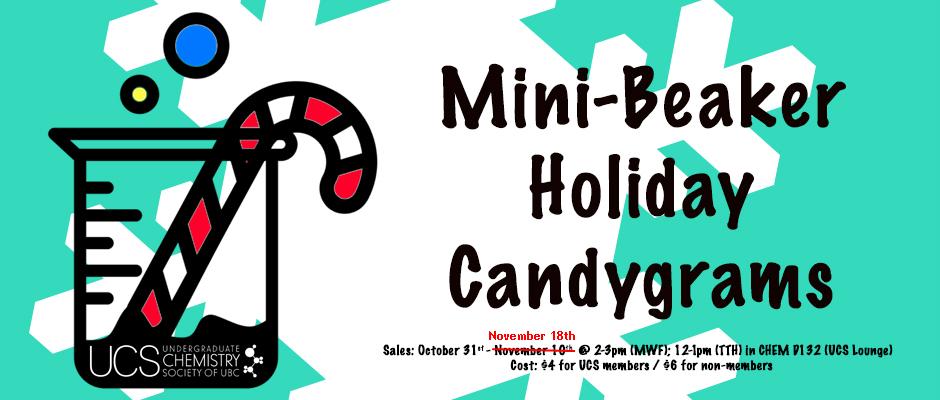 Beaker Candygrams - Extended Sales