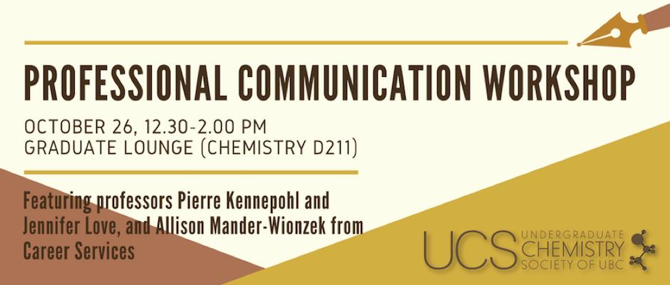 professional communications workshop 2017